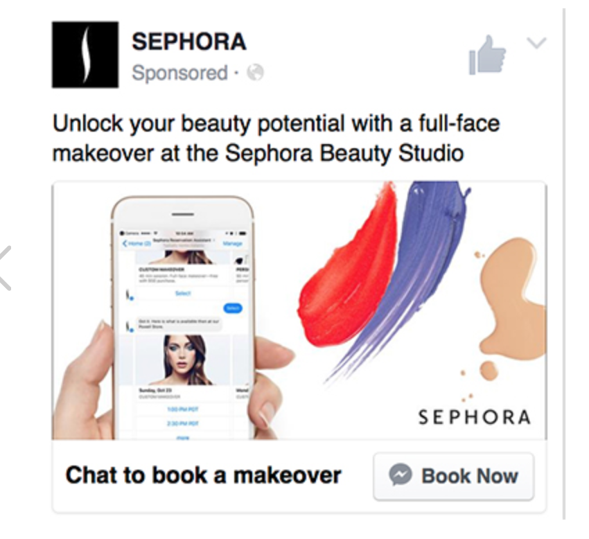 sephora-facebook-example