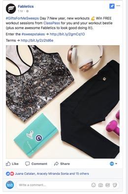 Fabletics Facebook