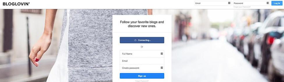 Content Tool for Social Media - BlogLovin