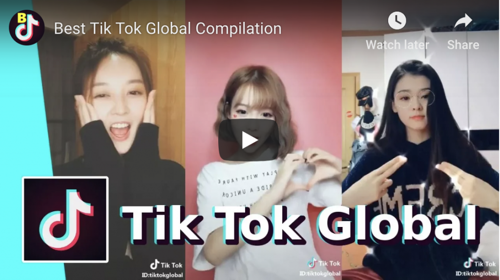 Tik Tok - emerging platform for video.