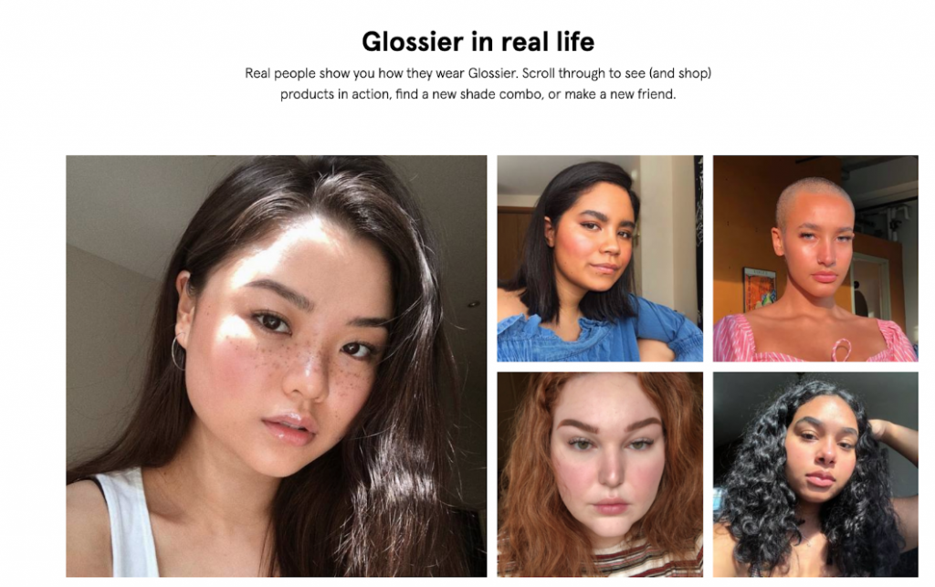 Glossier Treats Everyone Like an Influencer
