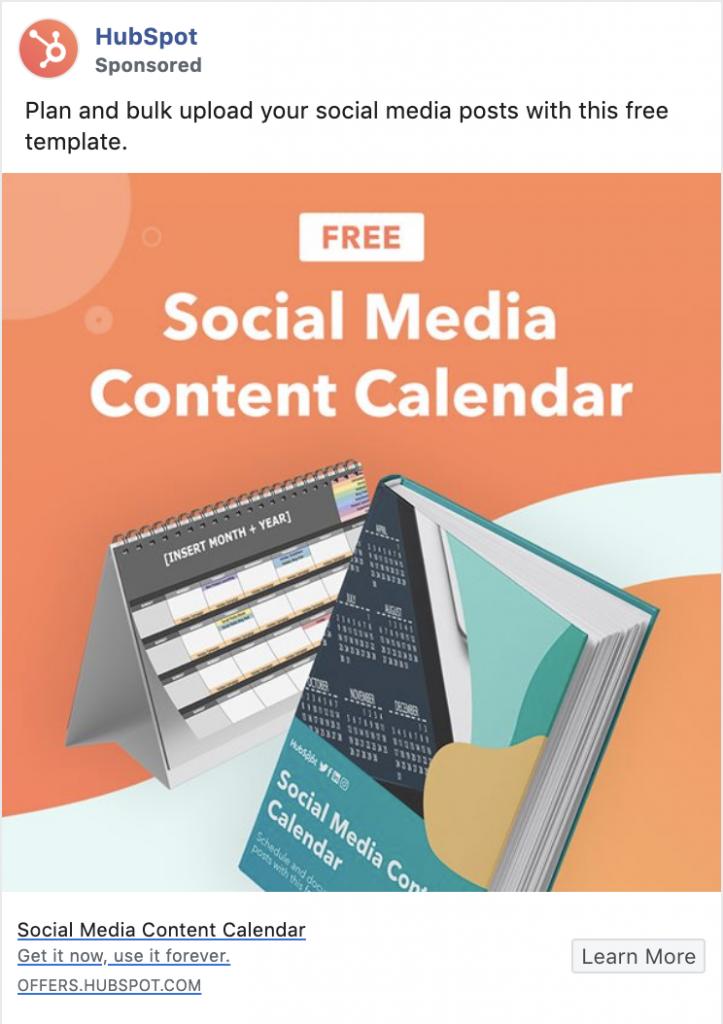 Hubspot Gated Content Facebook Ads