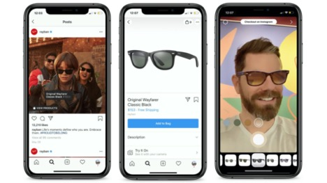 Instagram is beta testing an AR shopping feature