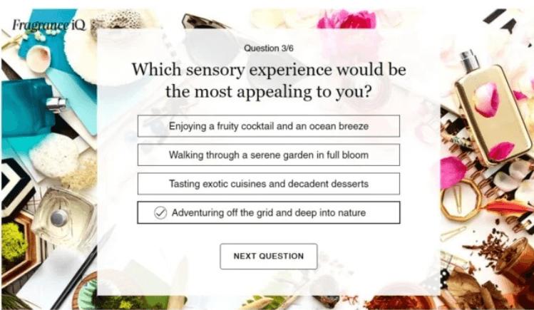SephoraG€™s G€œFragrance Quiz