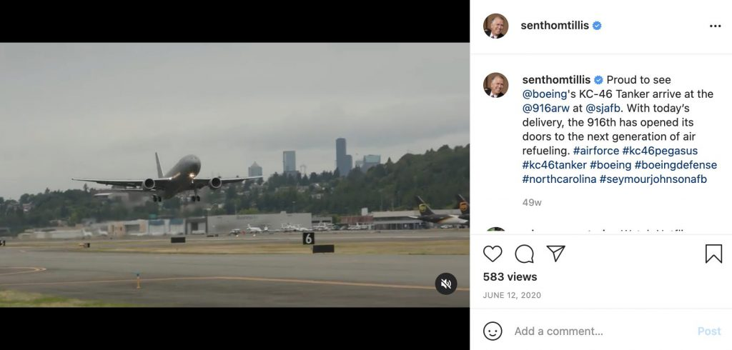 plane taking off captures the audience's attention