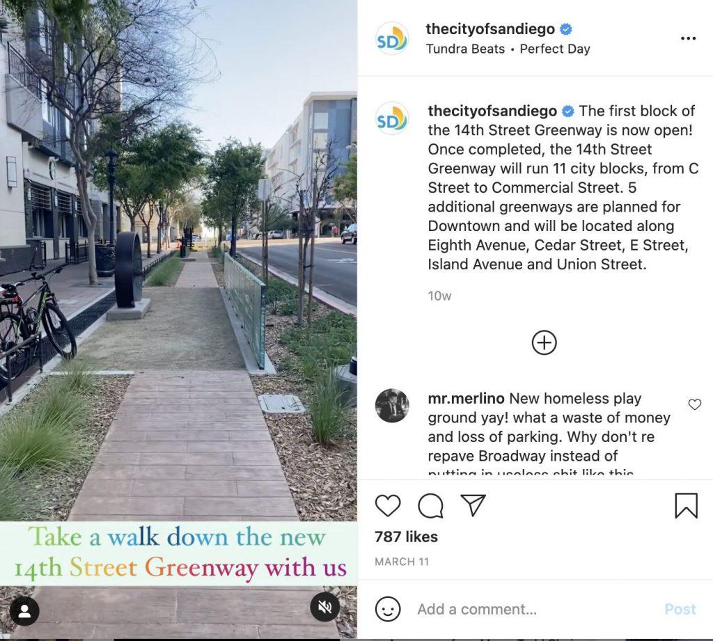 City of San Diego tries out Instagram Reels